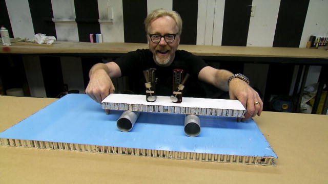Mythbusters home projects