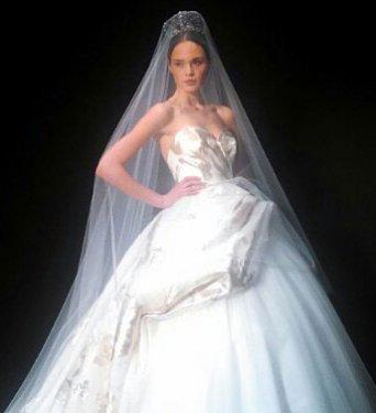 bridal-market-2013-lazaro-gold-ball-gown-1