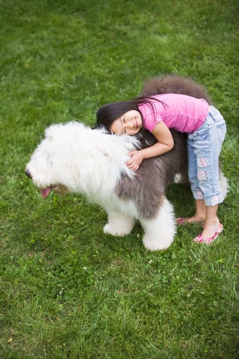 Children With Pet Allergies Healthy