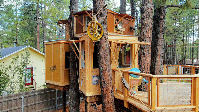 tree of life tree house project