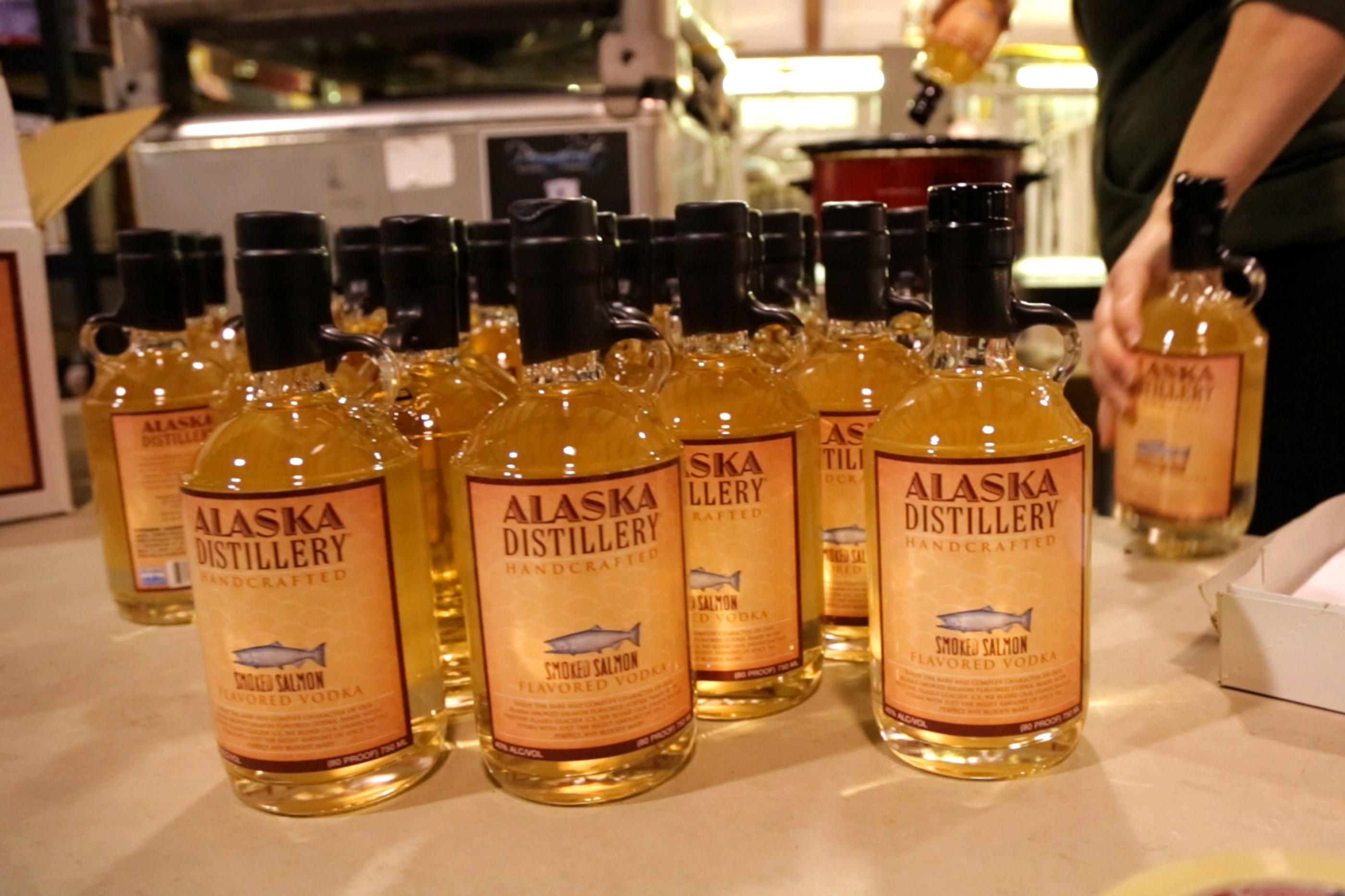 Only the finest from Alaska Distillery