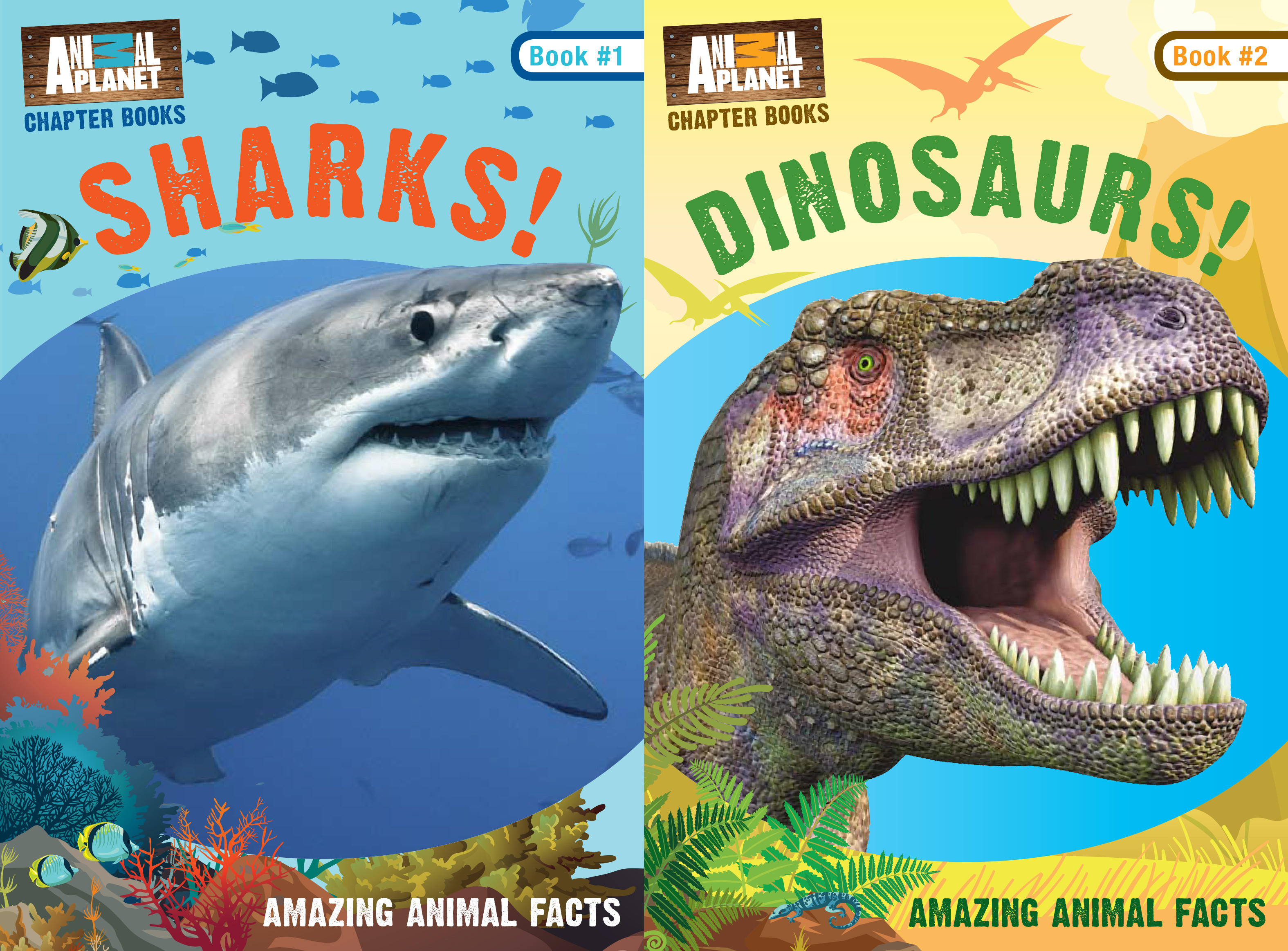 Sharks! and Dinosaurs!