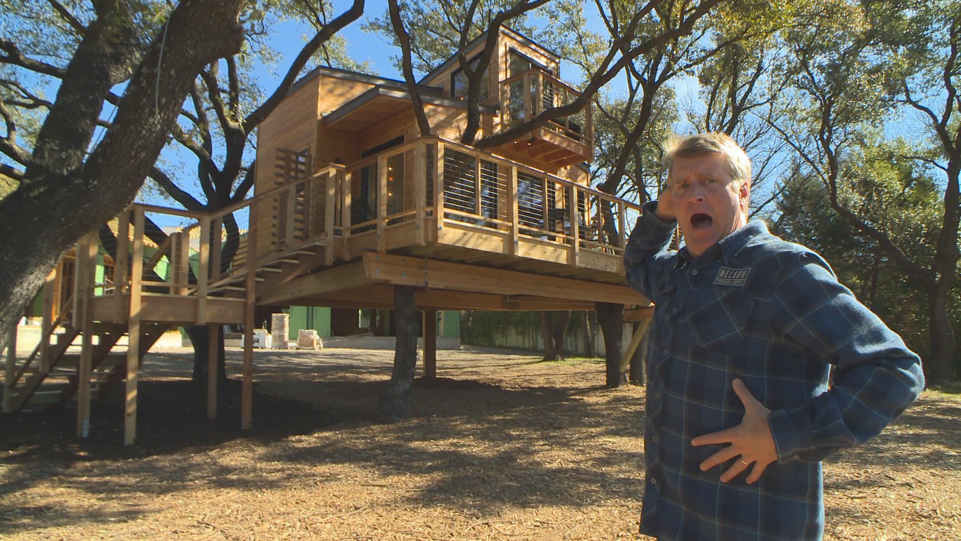 alex treehouse masters. Treehouse. Behind The Build - City Sleeker Treehouse Alex Masters T