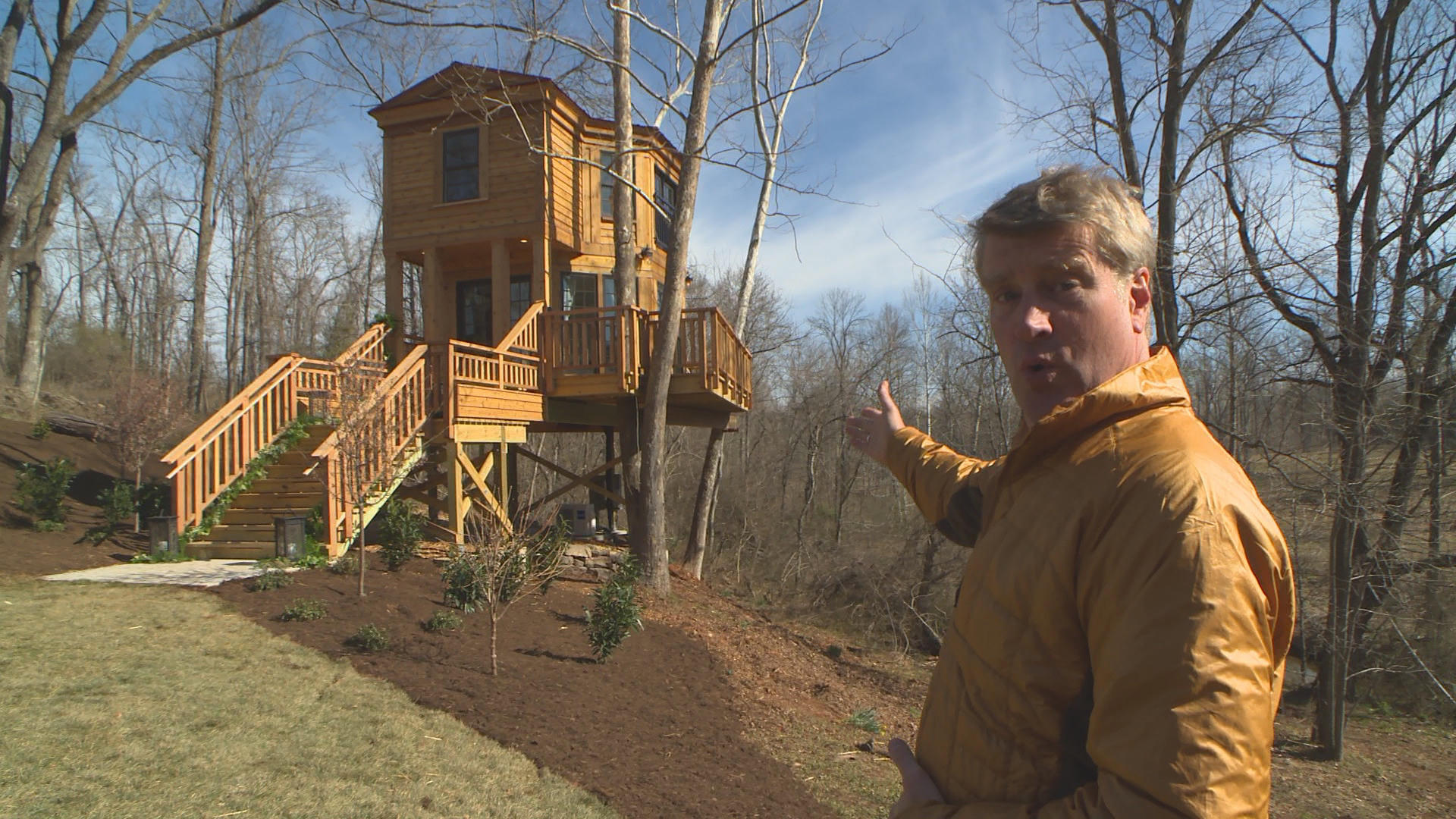 Behind the Design The Bird Barn Treehouse Treehouse Masters