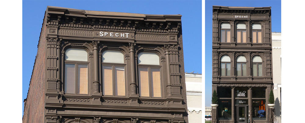 The Specht Building in Omaha
