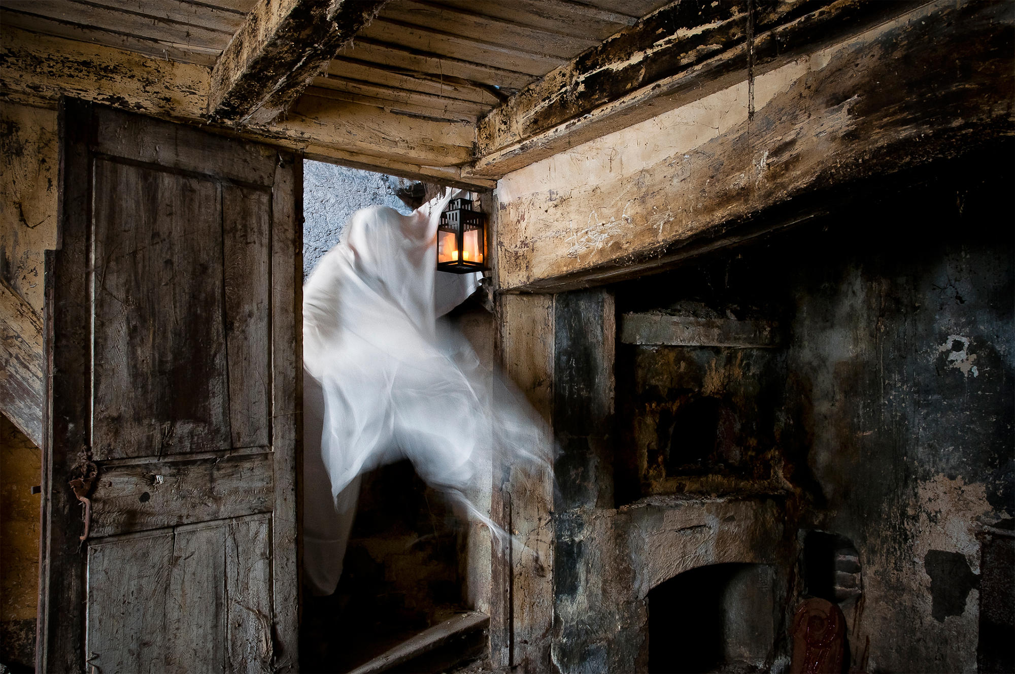 Ghost in a Barn