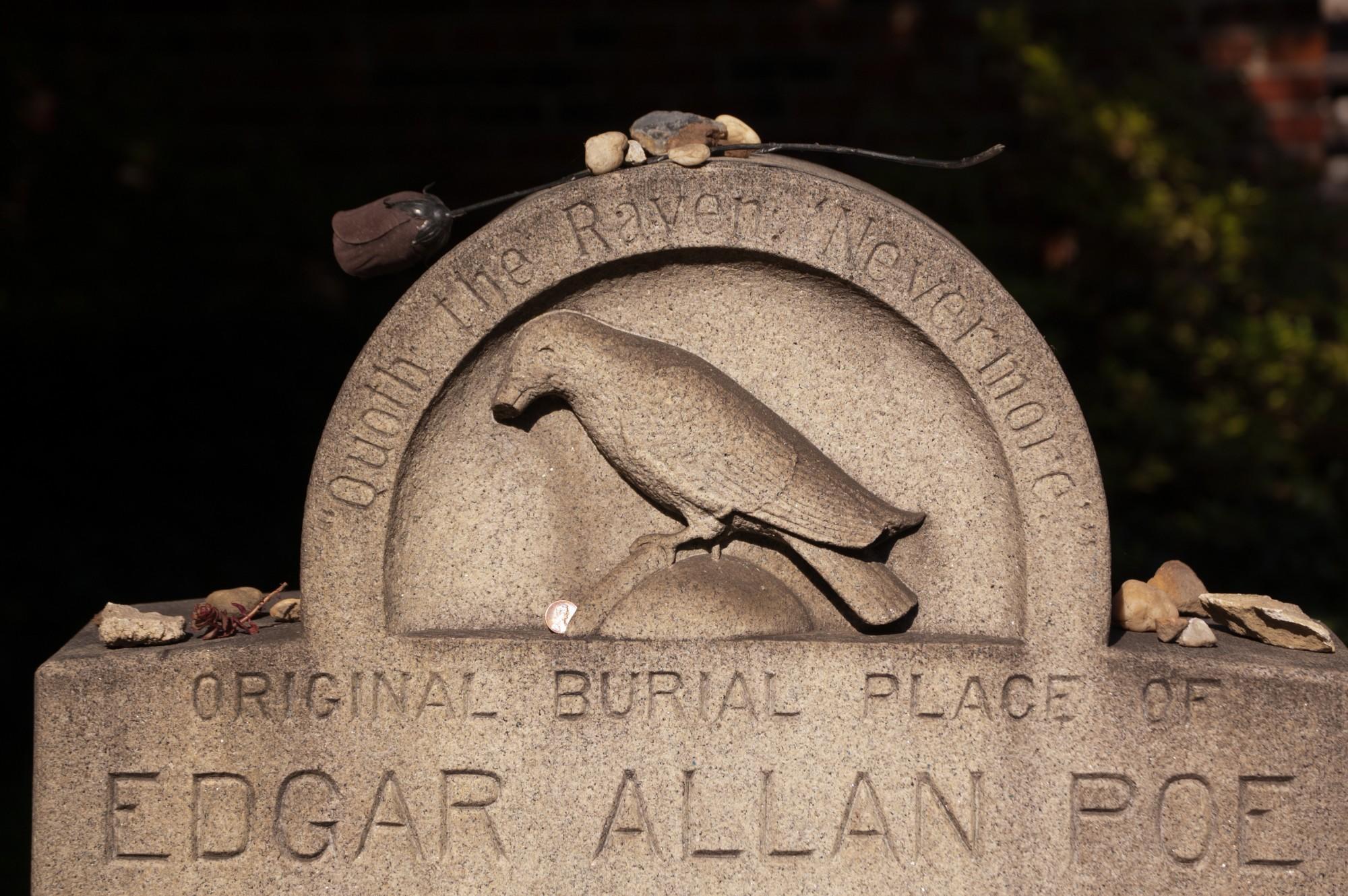 Edgar Allan Poe's Original Grave