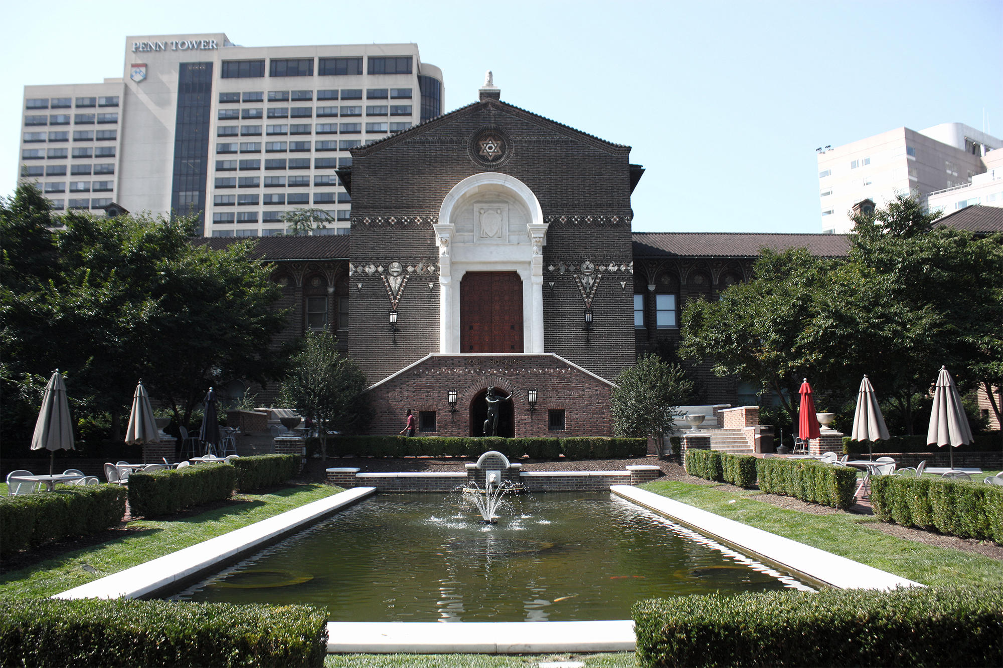 The exterior of the Penn Museum
