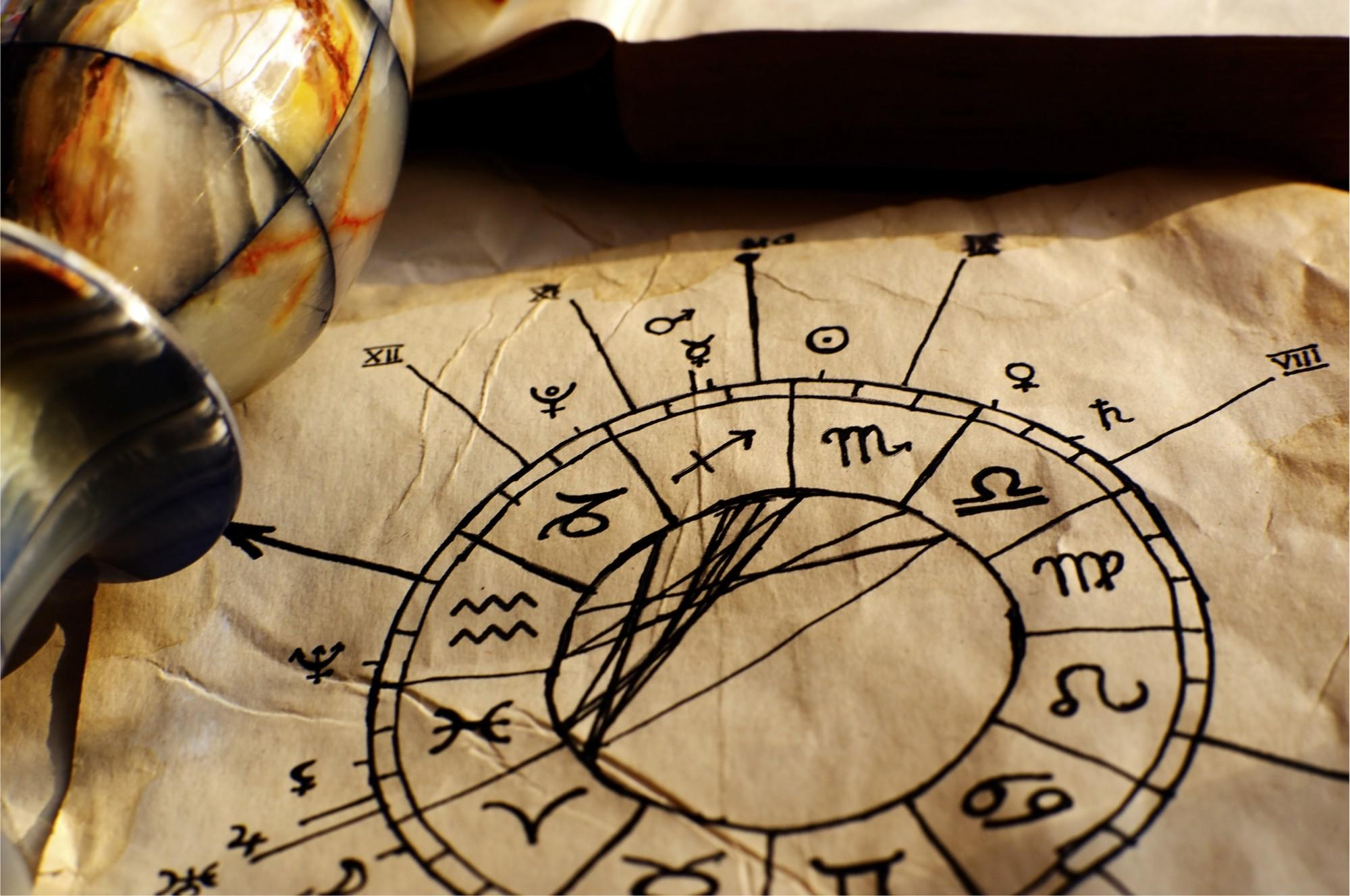 Ancient Horoscope Paper
