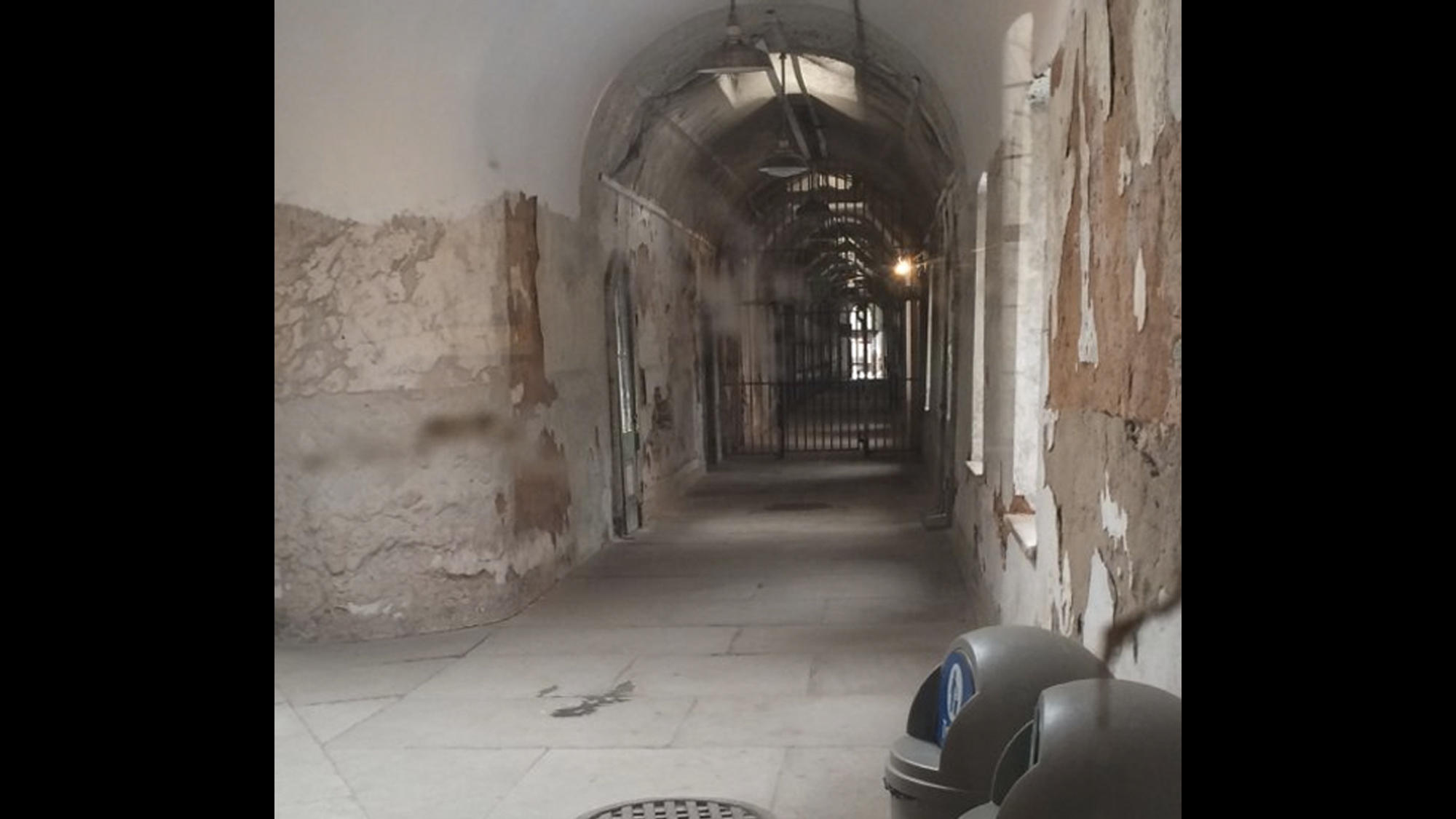 Orbs at Eastern State Penitentiary