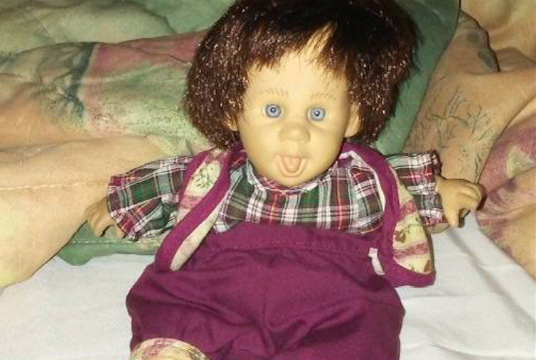 Herbie, a possessed doll