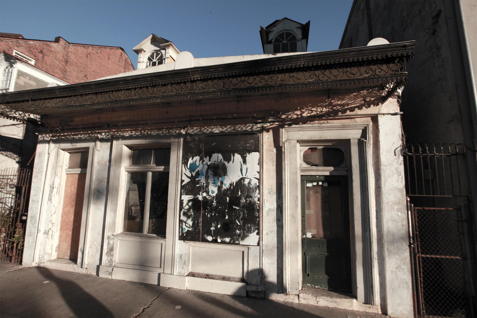 Rampart Street Murder House