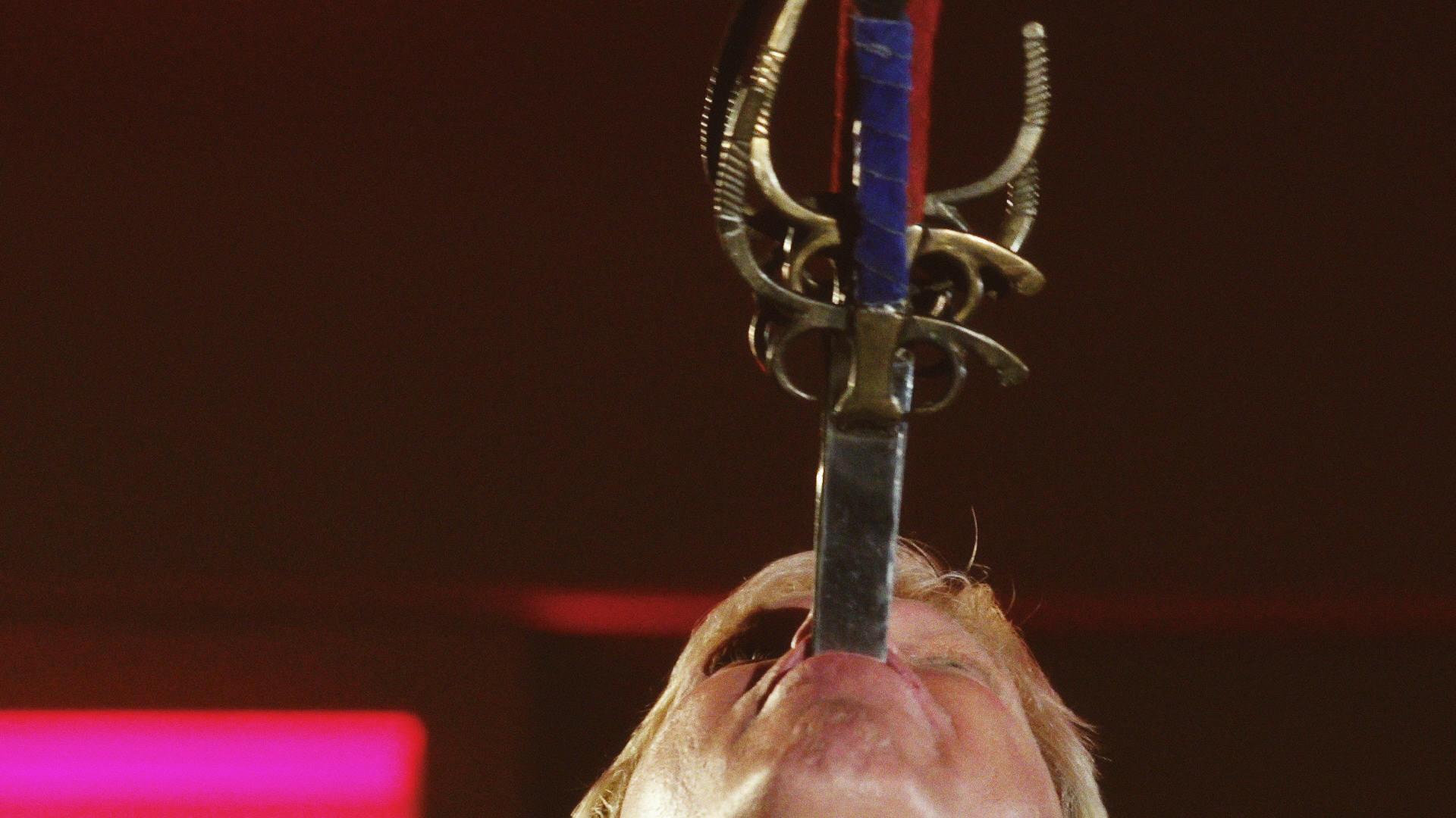Sword Swallower Wonders If His Stunt Will Kill Him | The