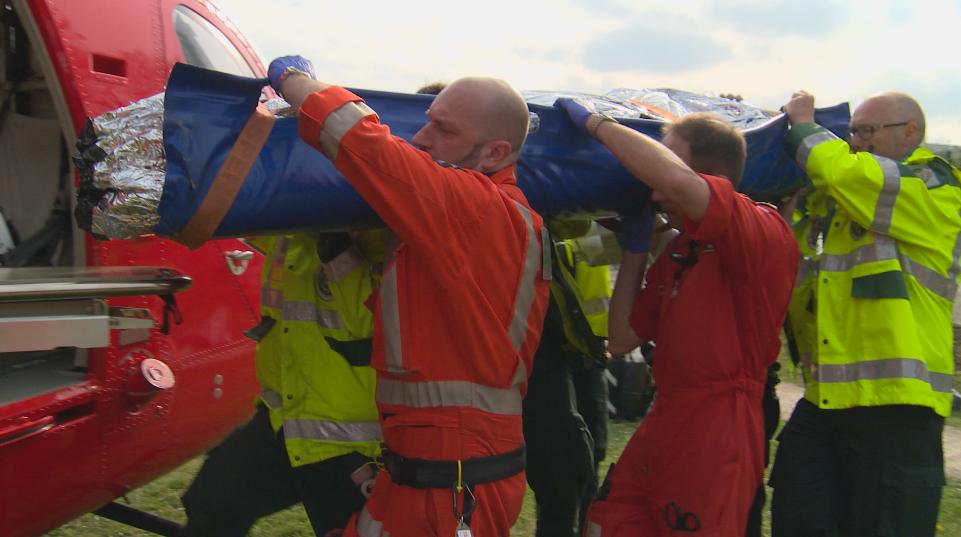 London's Air Ambulance featured on Trauma Doctors