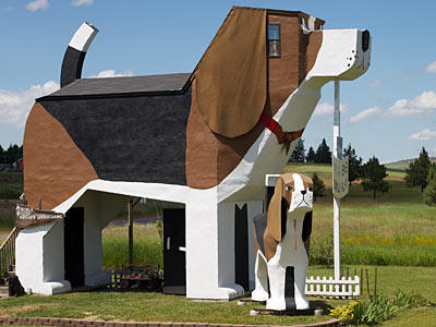 Who knew you could get a good night's sleep inside a beagle? The Dog Bark Park Inn -- otherwise known as the World's Biggest Beagle -- sleeps four and is the pride Cottonwood, Idaho. Kids will love the beagle-themed décor and the loft, where they can curl up with a good book or just enjoy truly getting inside the head of dog.