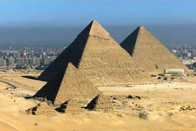 Upon their death, ancient Egyptian pharaohs were mummified and entombed in pyramids, which were built to pro