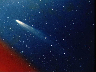 NASA's Operation Kohoutek mobilized observation of the comet though Skylab, satellites, rockets, balloons and ground observatories. This 1974 image was captured with a 35 millimeter camera by a team at the University of Arizona. Can you name any artists that were inspired by Comet Kohoutek?