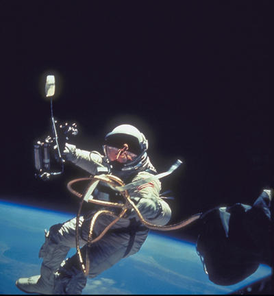 Astronauts do everything from sightseeing to hard labor on spacewalks, staying tied to the ship for safety. Can you imagine that first step out into space?
