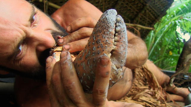 how to eat coconut crab
