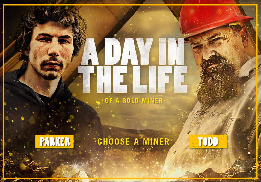 Day in the Life of a Gold Rush Miner | Gold Rush | Discovery
