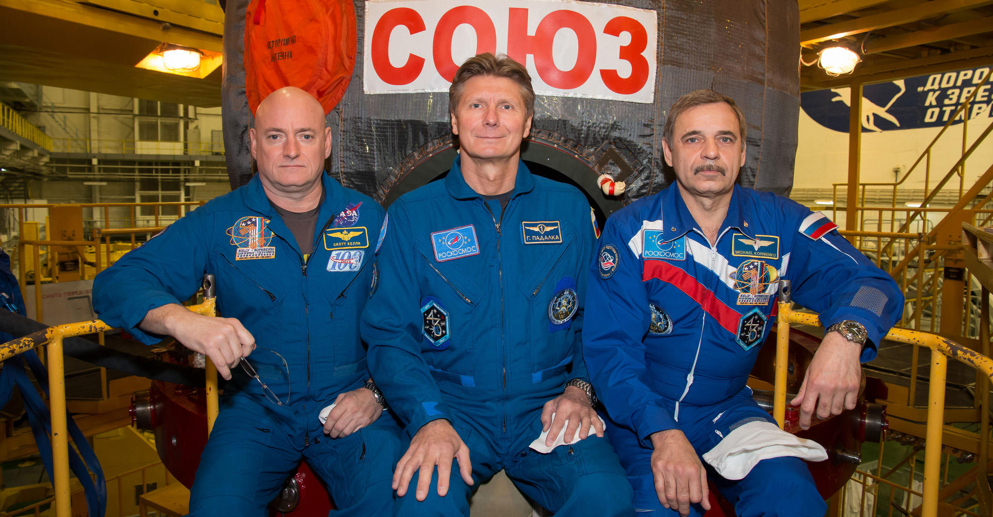 Expedition 43 astronauts