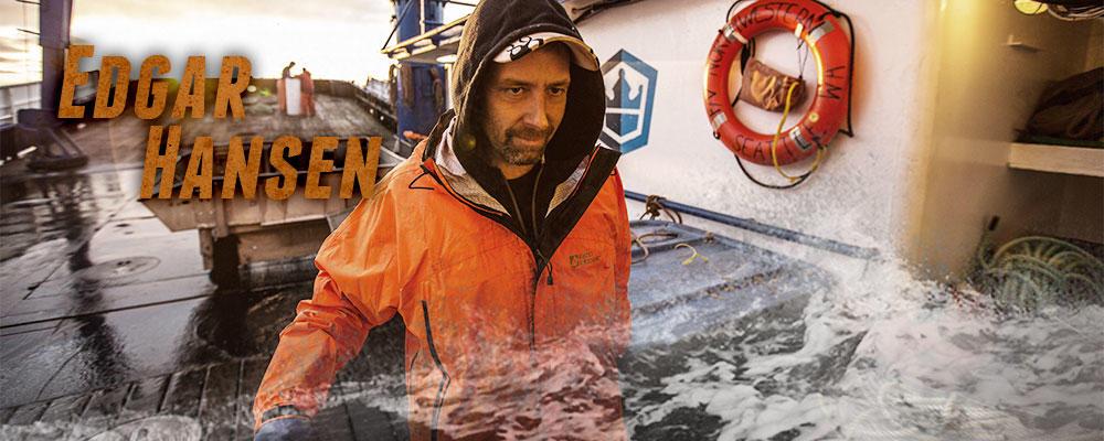 Relief Skipper/Deckboss Edgar Hansen