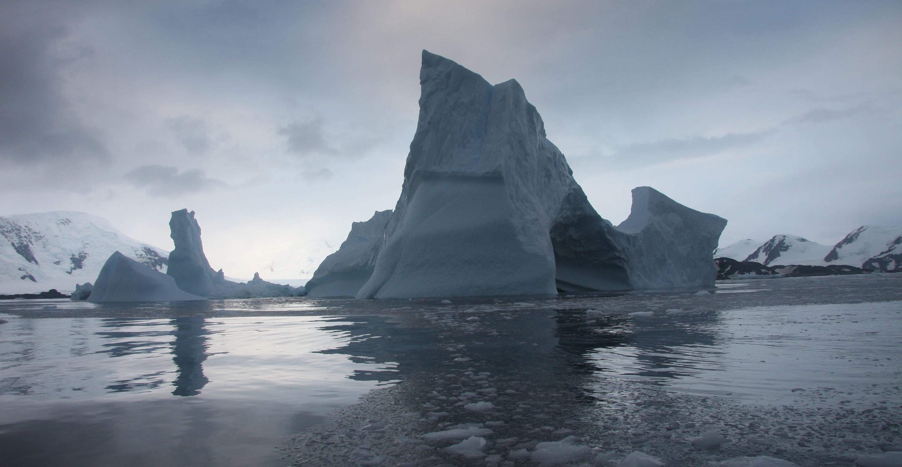 Antarctica glacier