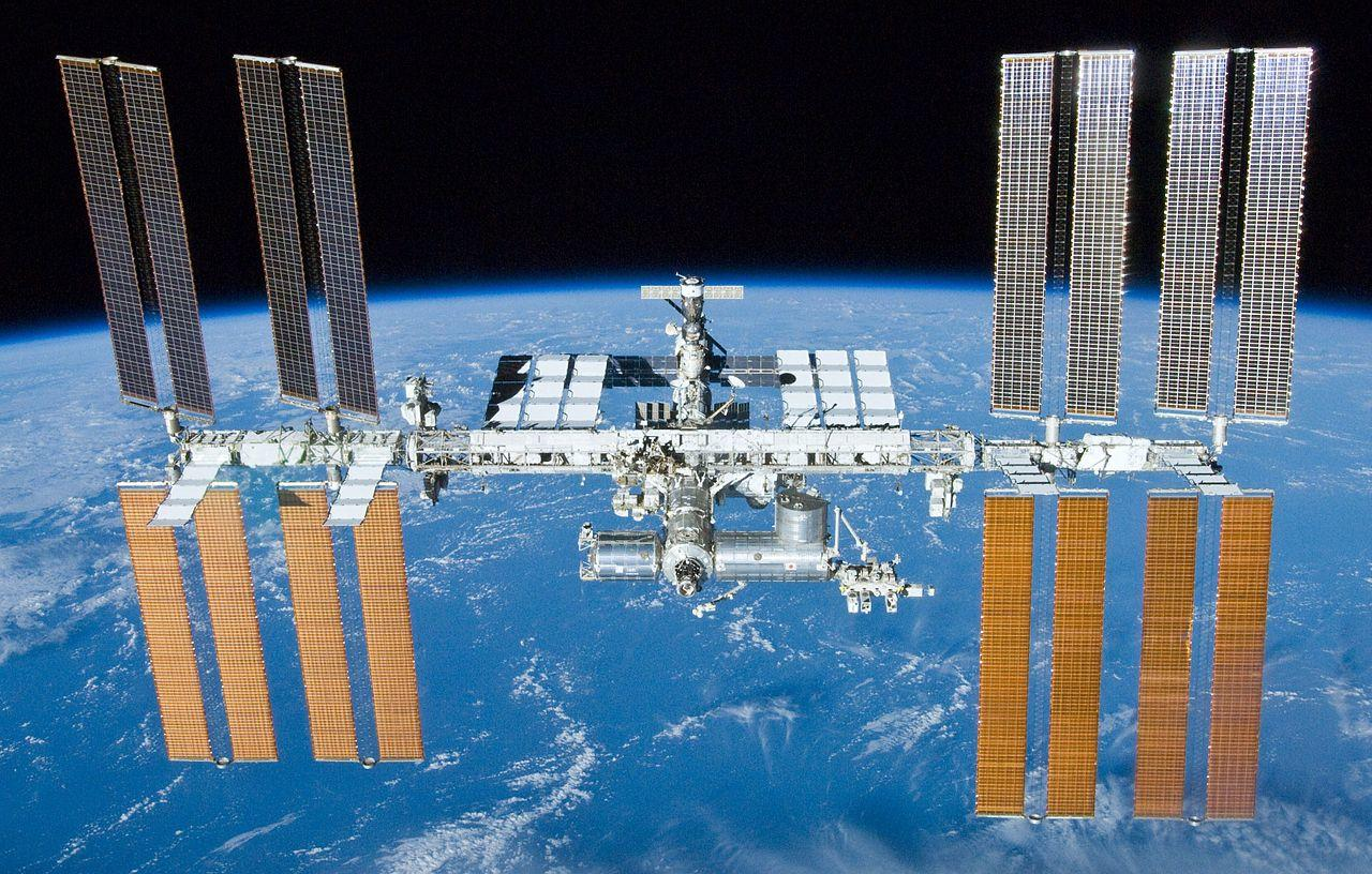 International Space Station after STS-132 undocking