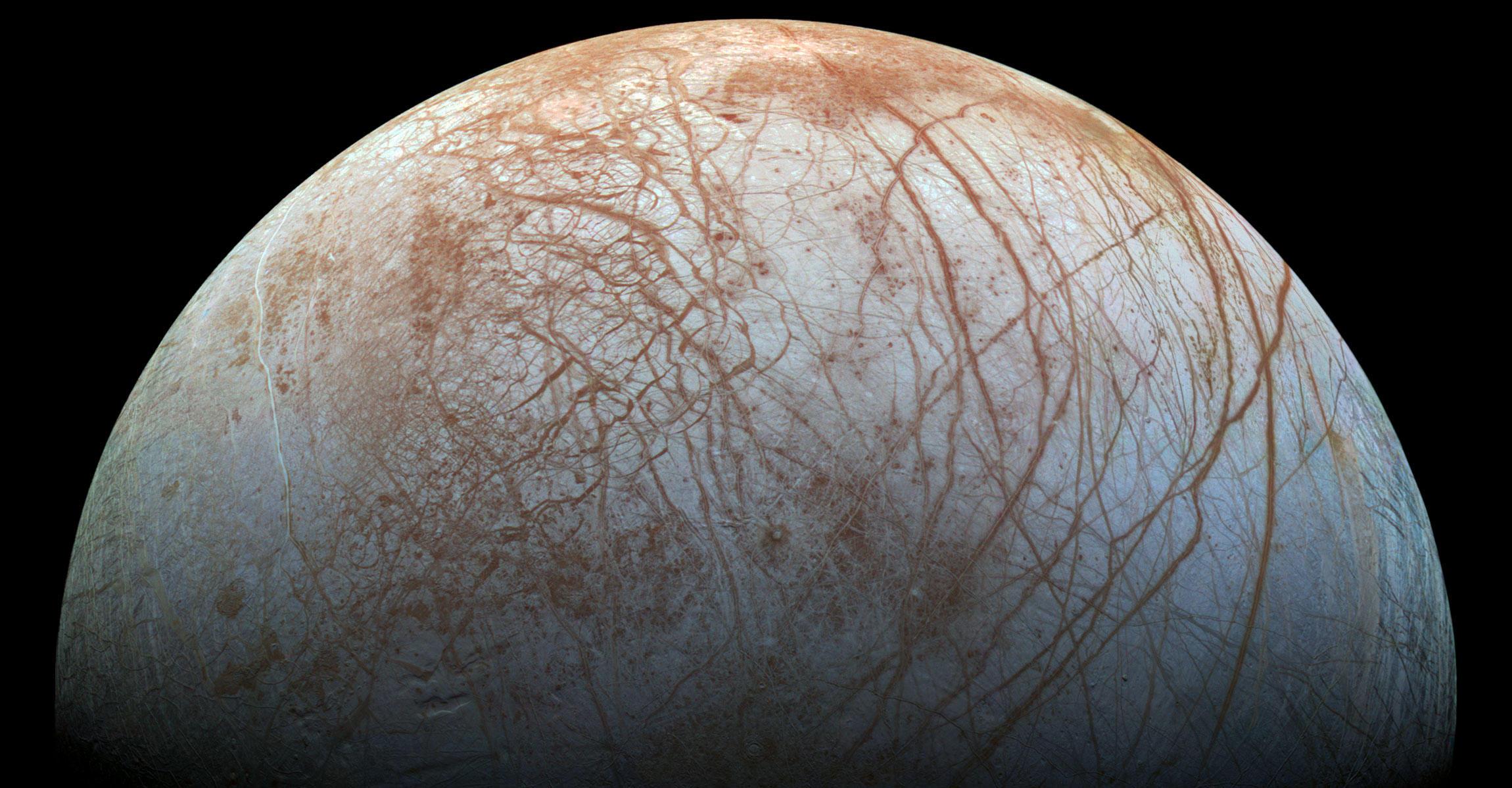 Europa's Stunning Surface