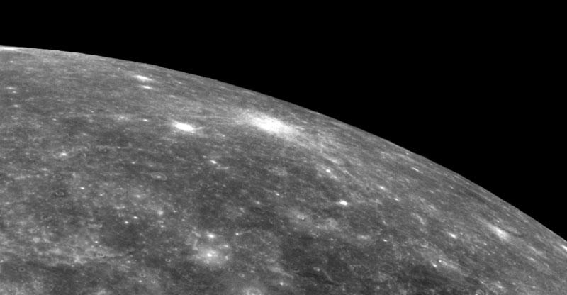 Surface of Mercury