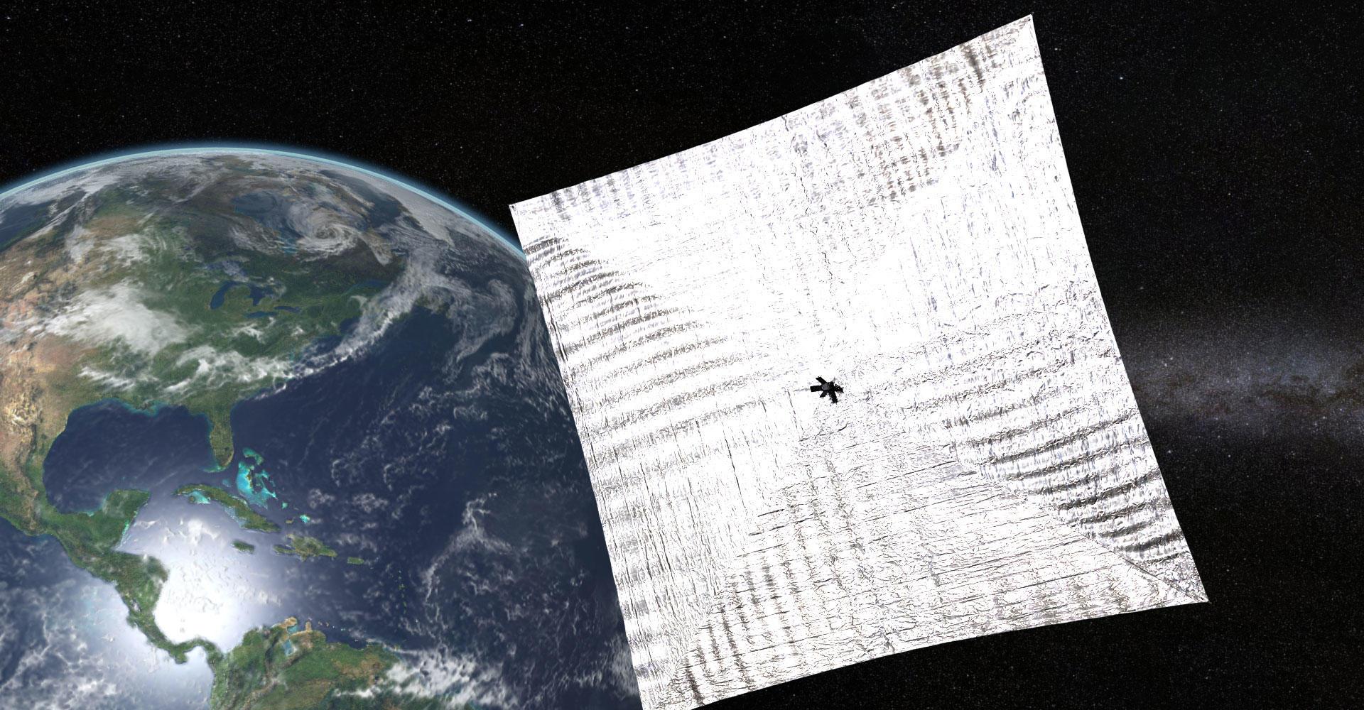 LightSail in Earth orbit