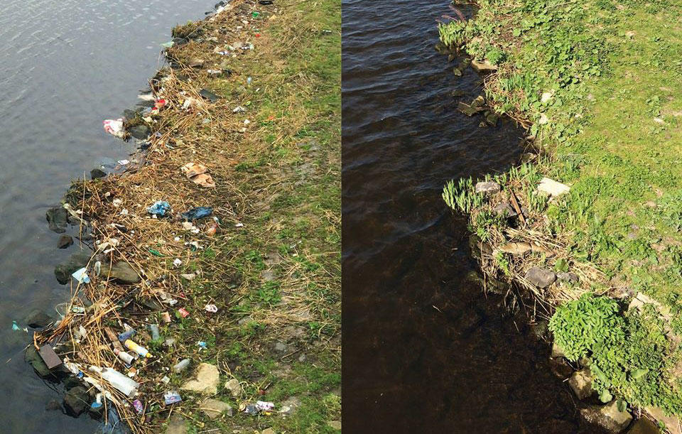 Project Schone Schie before & after