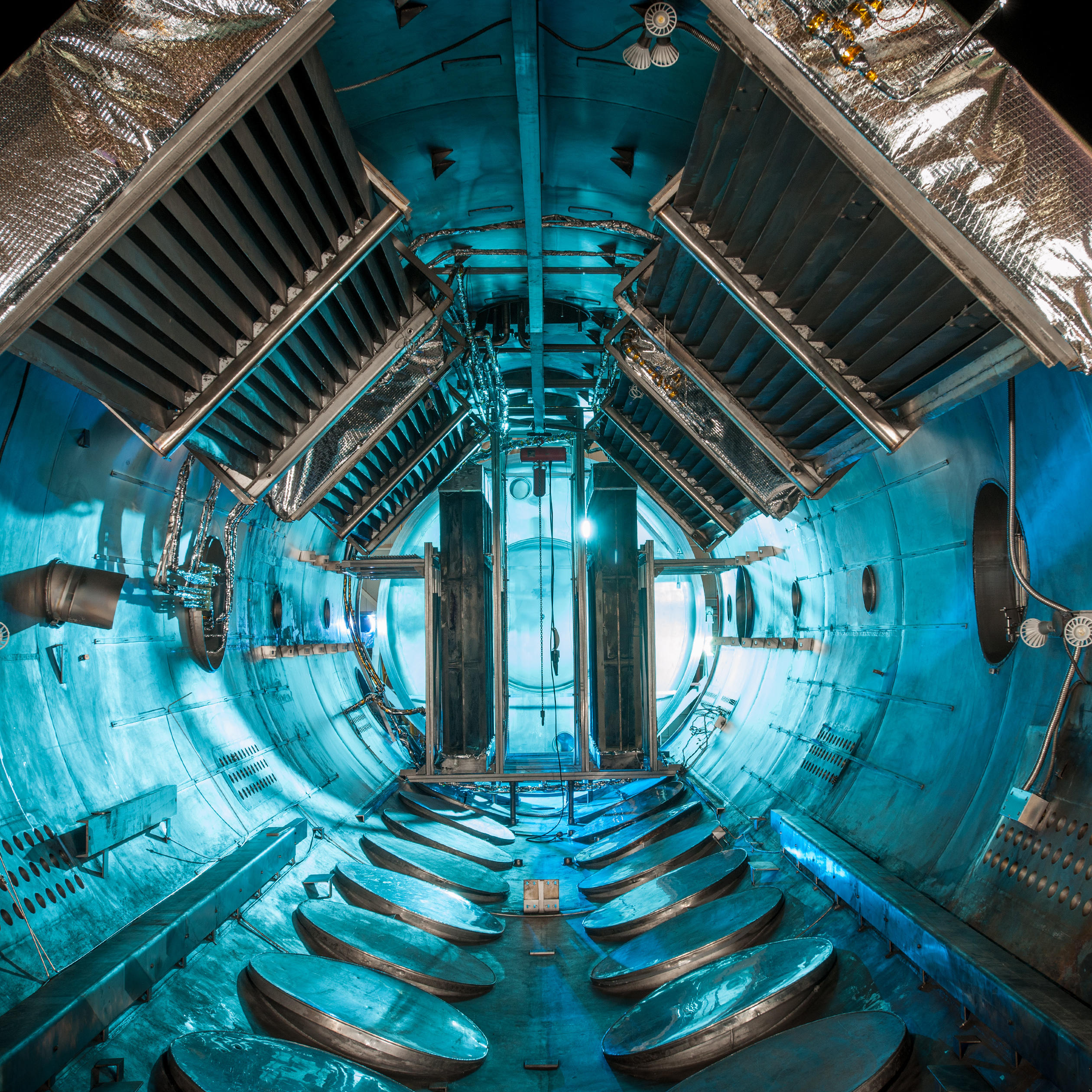 Journey to Space in a Vacuum Chamber