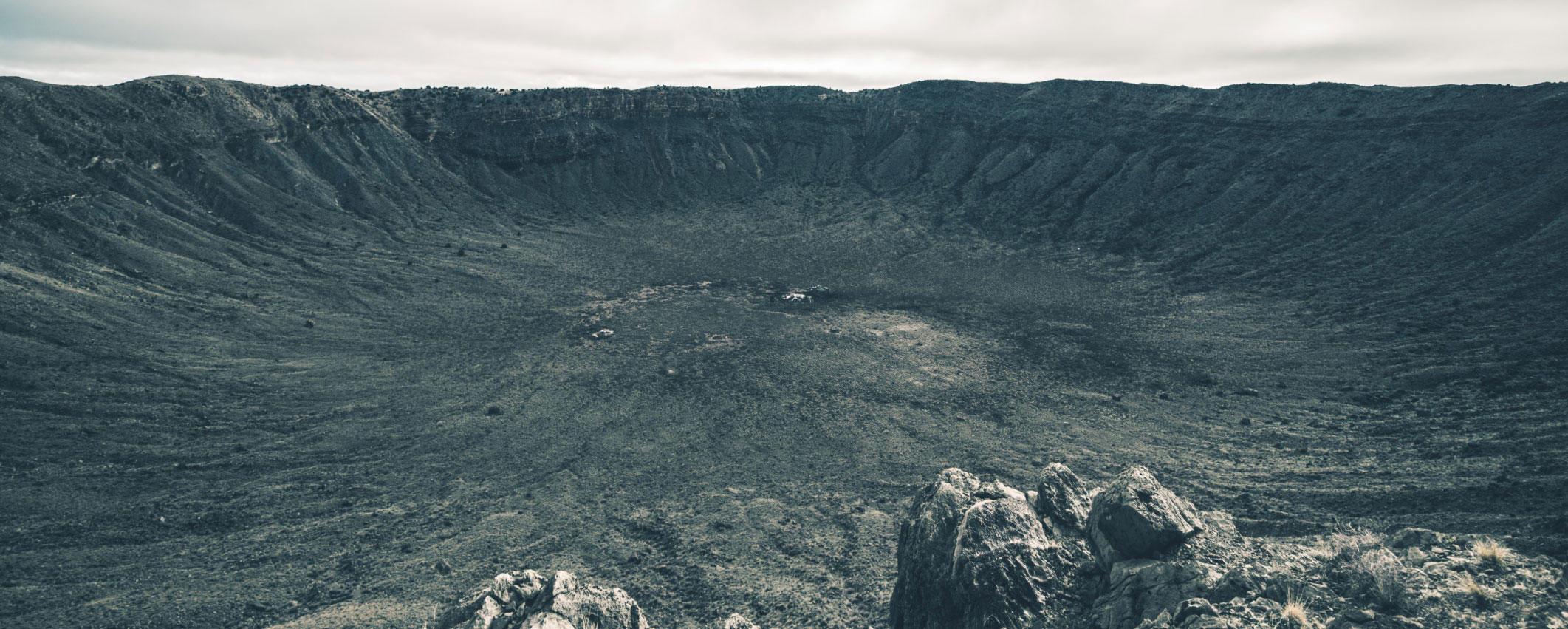 crater impact site