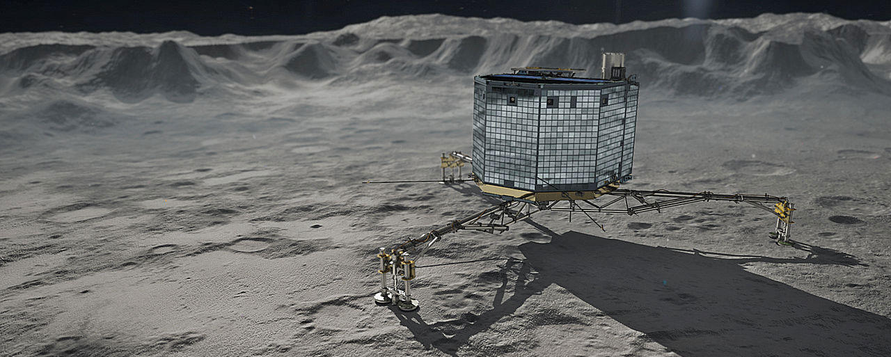 Artist conception of Philae