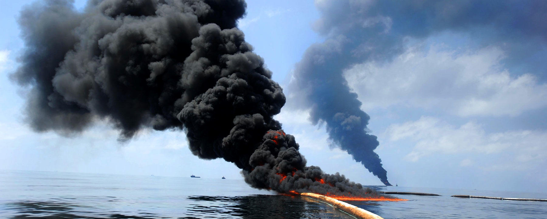Deepwater Horizon burn