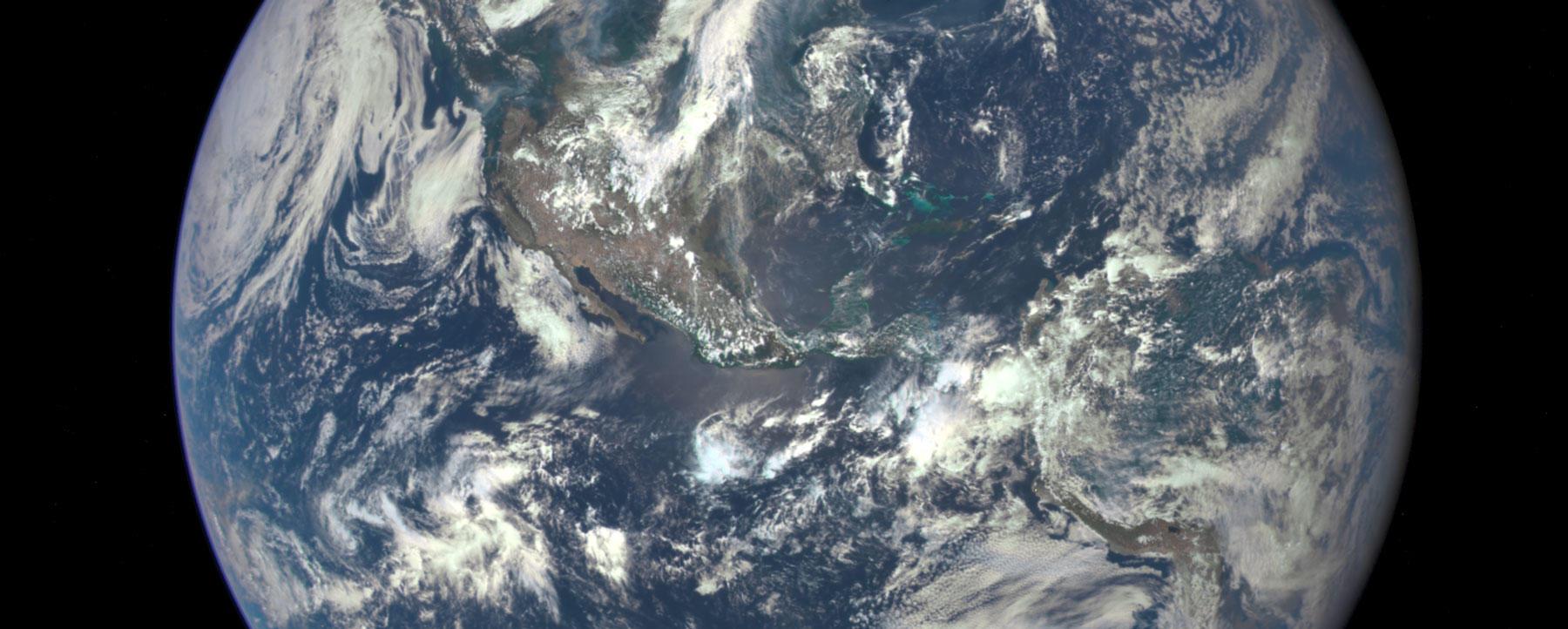 EPIC Earth photo