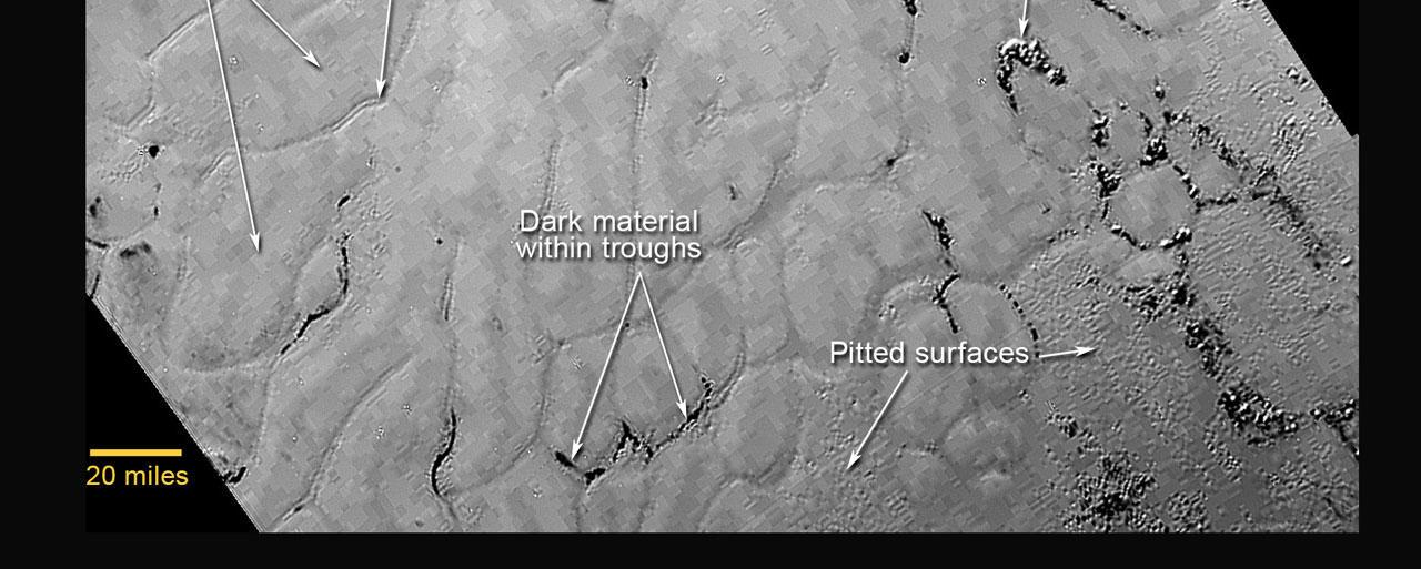 Plains on Pluto