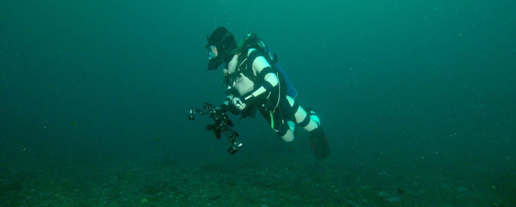 Shark-deterring wetsuit
