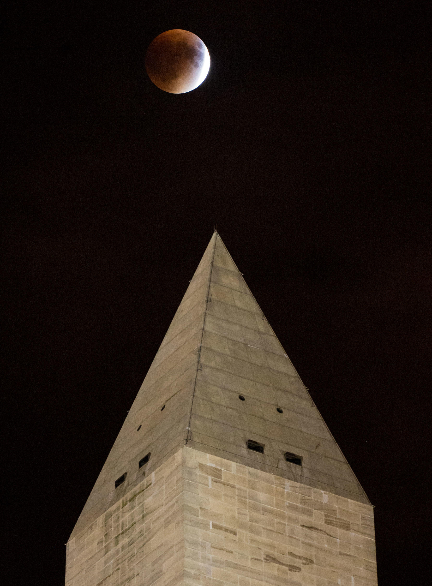 Supermoon in DC