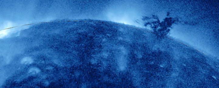 Mass of plasma on Sun