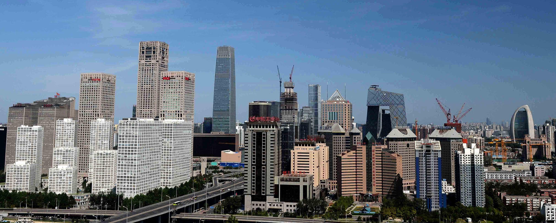Blue skies over Beijing on September 3