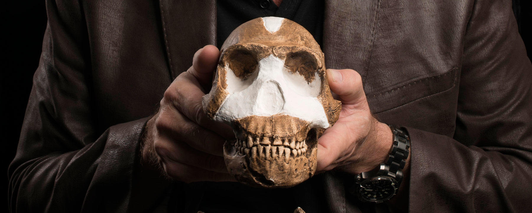 Lee Berger introduces Homo naledi