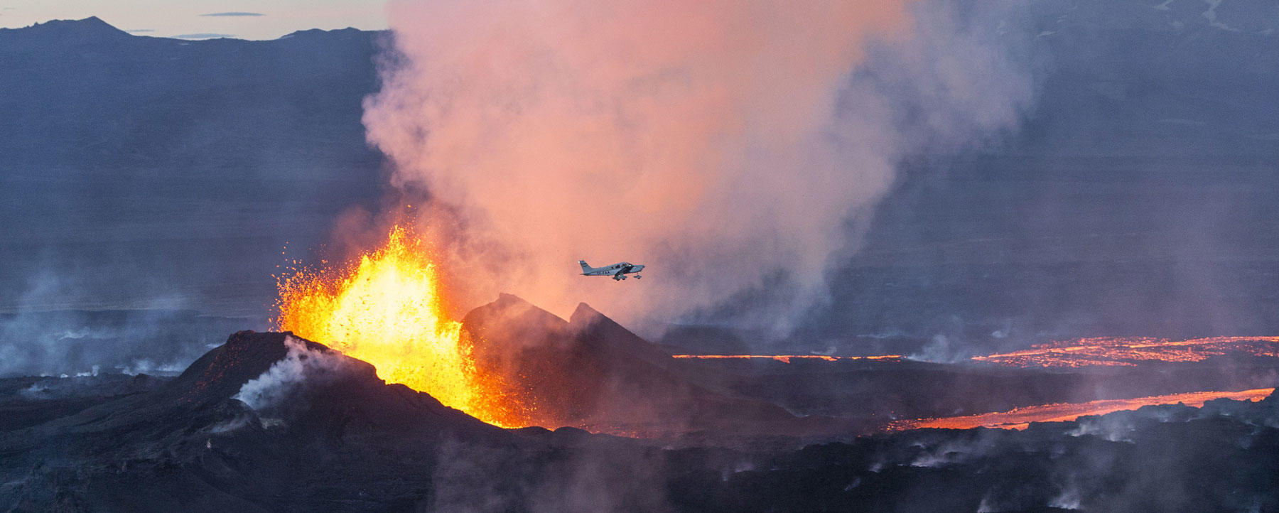 Bardarbunga eruption in 2014