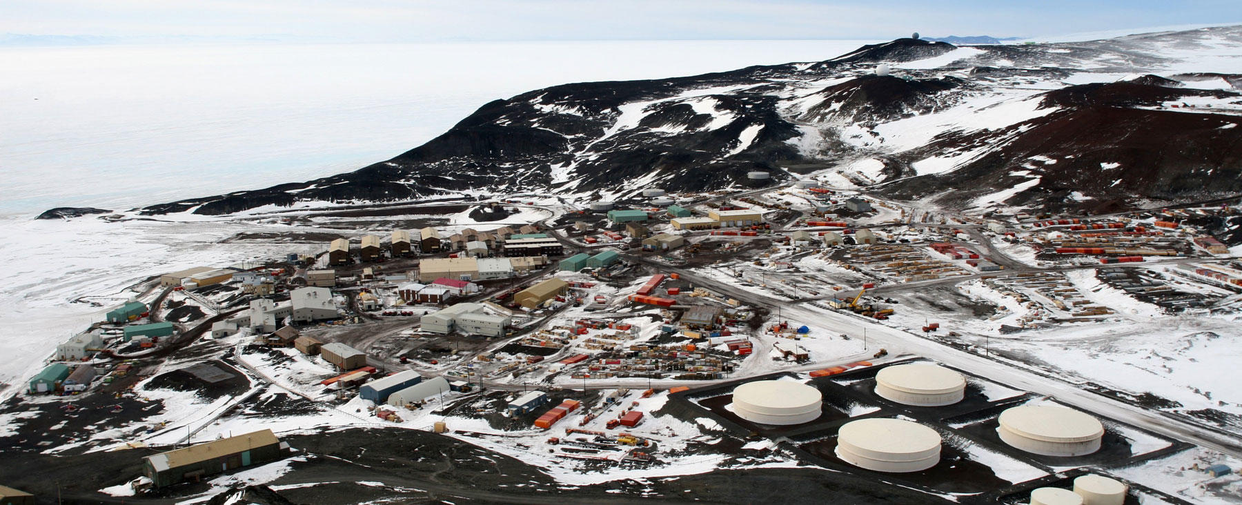 McMurdo Station from Observation Hill