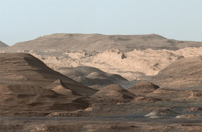 gale crater rover in mars - photo #24