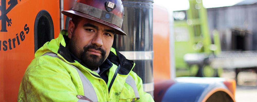 Juan Ibarra, the new mechanic for the Hoffman crew.