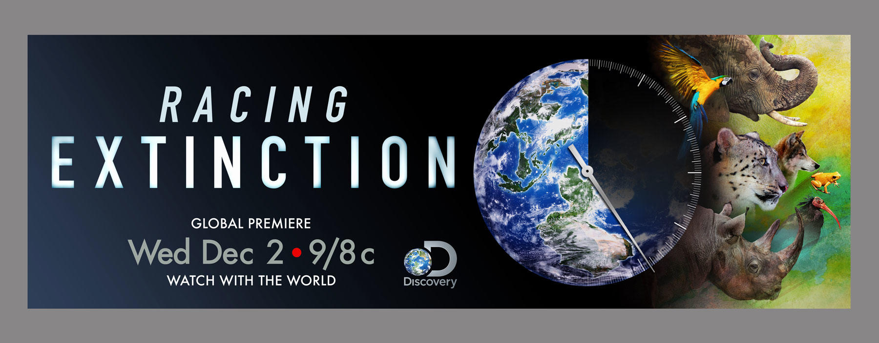 Racing Extinction horizontal key art
