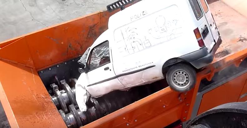 This 'Universal Shredder' Can Destroy A Car