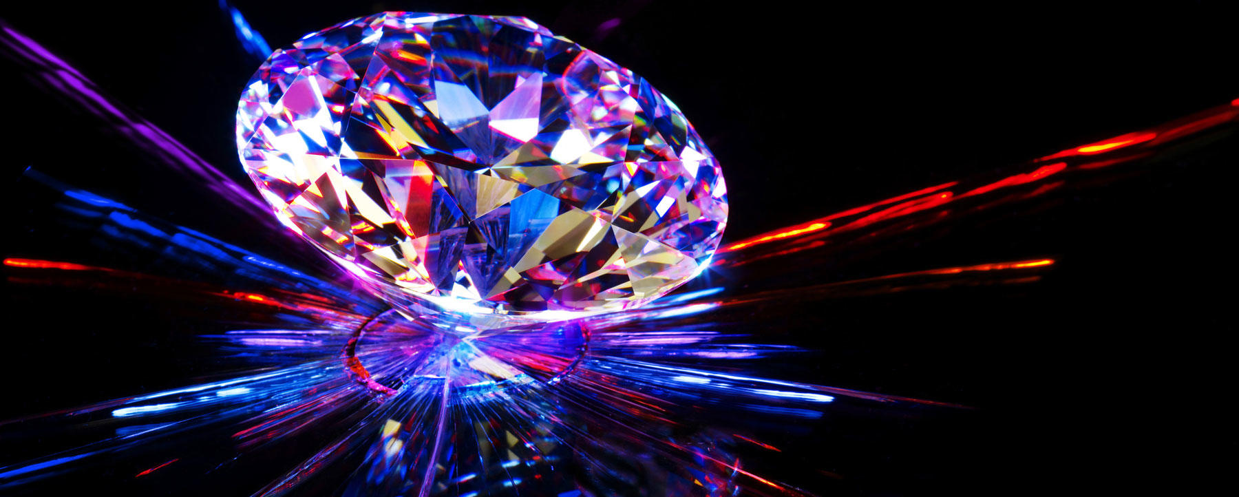 Pretty colorful diamond